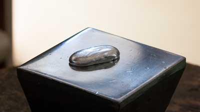 純銀の溶解 - 手作りシルバーアクセサリー   アトリエトントン